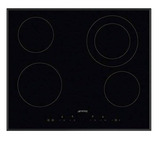 Smeg SE364ETB Kitchen Cooktop