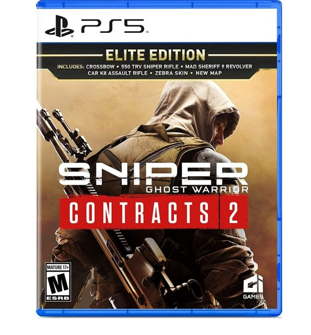 City Interactive Sniper Ghost Warrior Contracts 2 Elite Edition PS5 PlayStation 5 Game