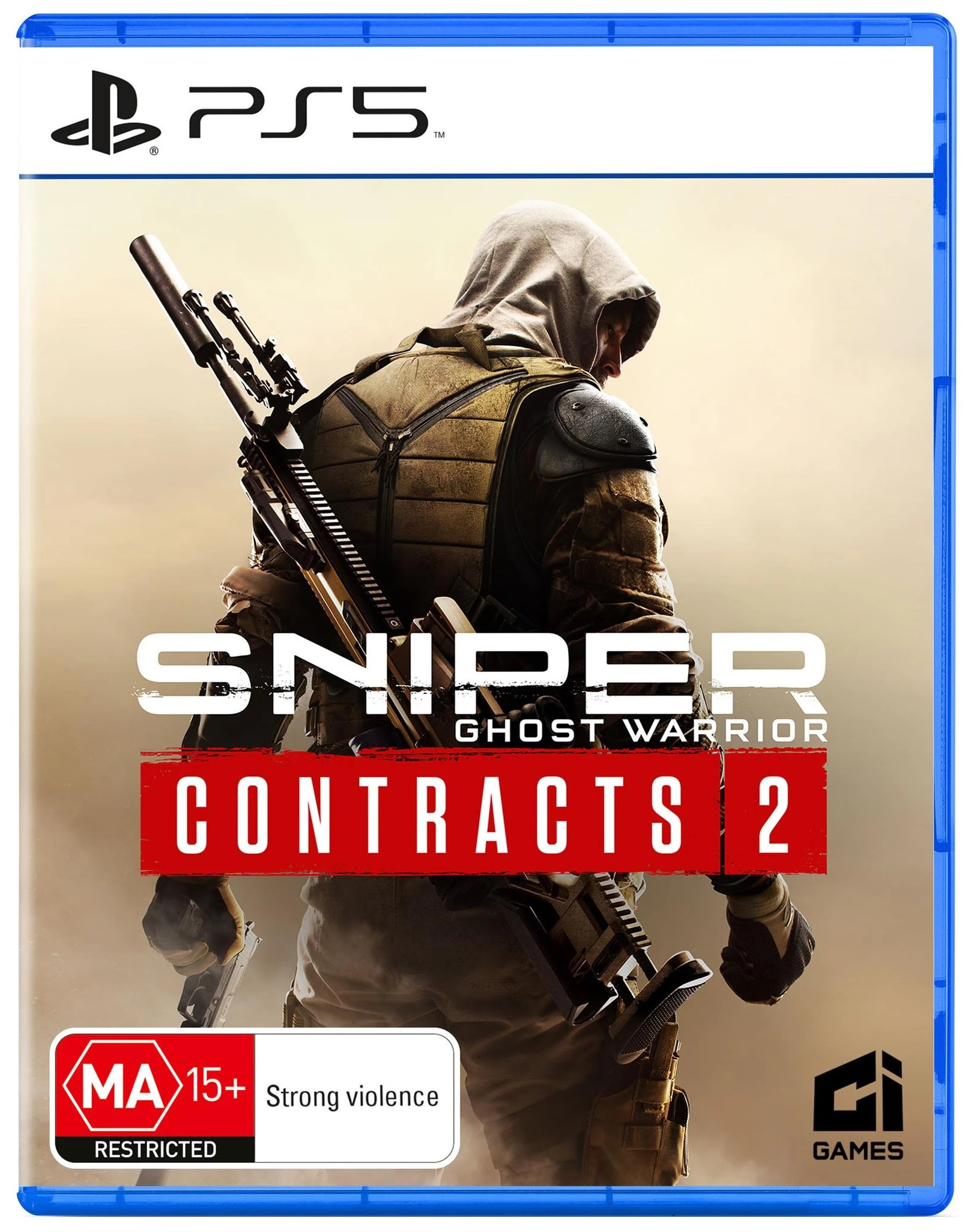 City Interactive Sniper Ghost Warrior Contracts 2 PS5 PlayStation 5 Game