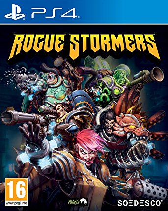 Soedesco Rogue Stormers PS4 Playstation 4 Game