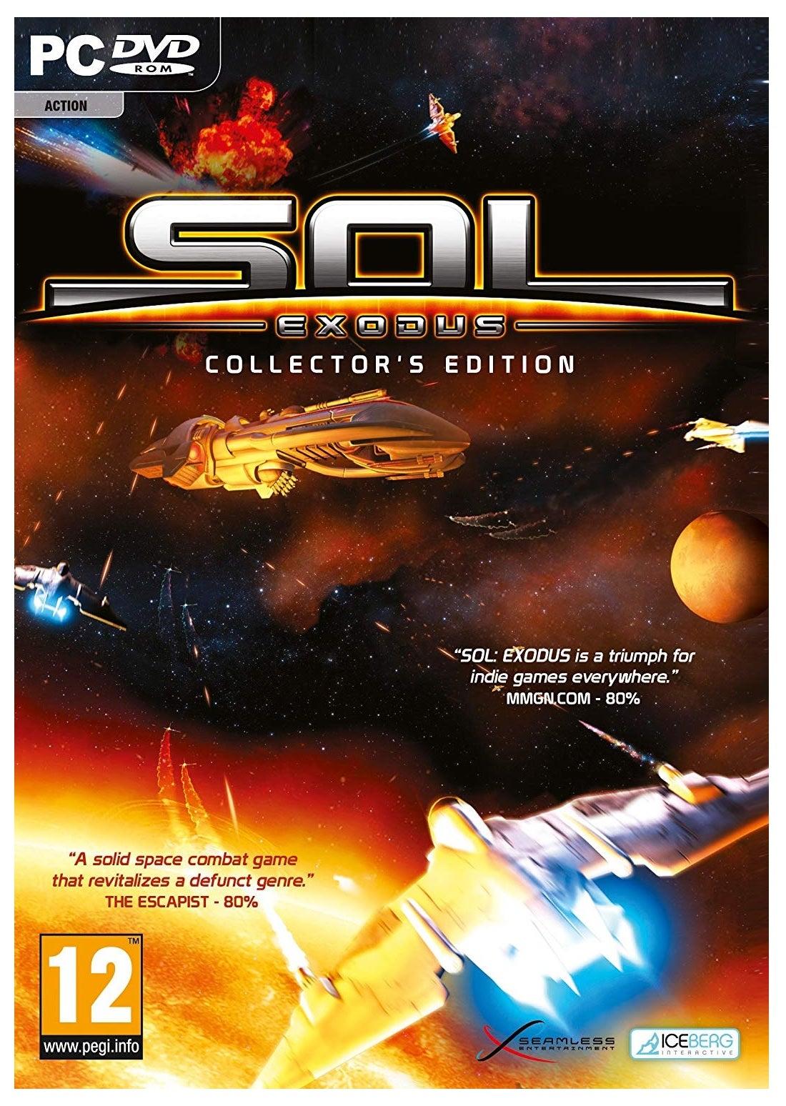 Bit Planet Sol Exodus Collectors Edition PC Game