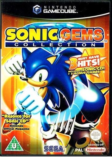 Sega Sonic Gems Collection GameCube Game