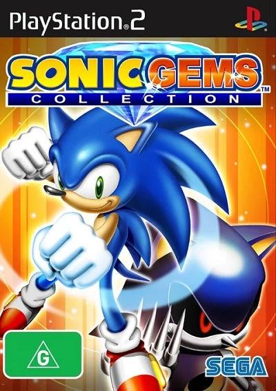 Sega Sonic Gems Collection Refurbished PS2 Playstation 2 Game