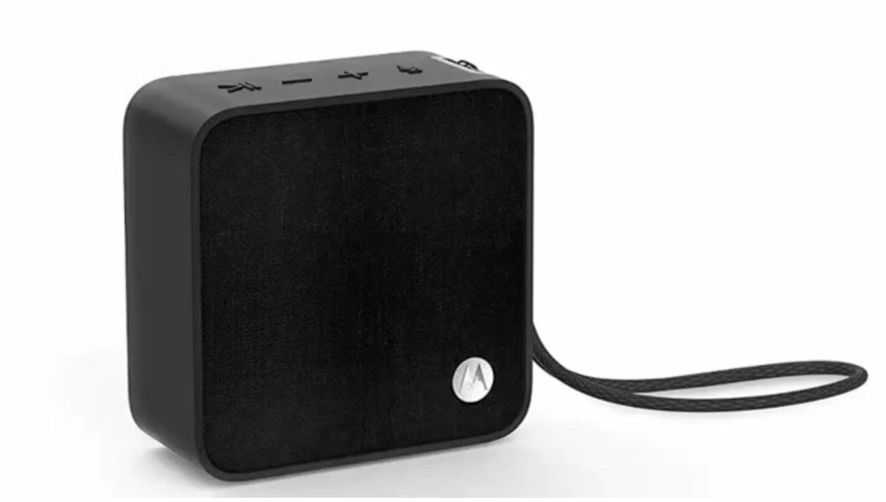 Motorola Sonic Boost 210 Portable Speaker