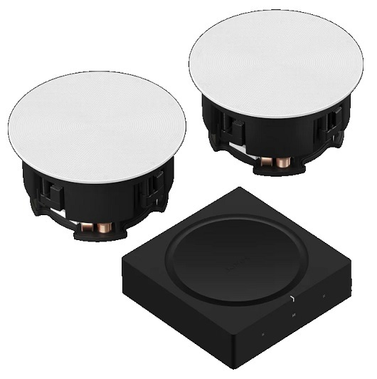 Sonos In-Ceiling Set Home Theater System