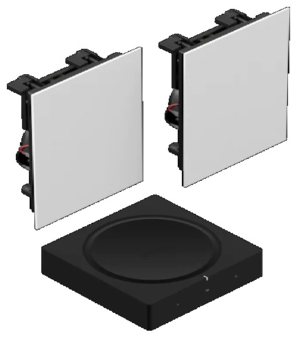 Sonos In-Wall Set Home Theater System