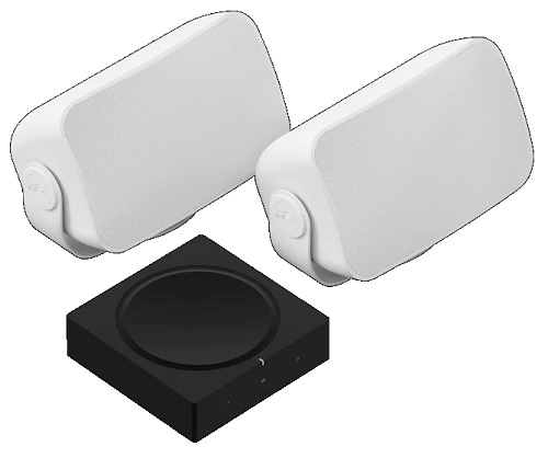 Sonos Outdoor Set Home Theater System