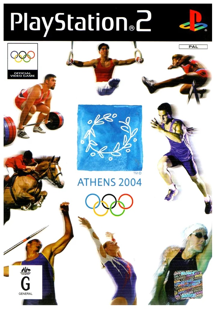 Sony Athens 2004 PS2 Playstation 2 Game