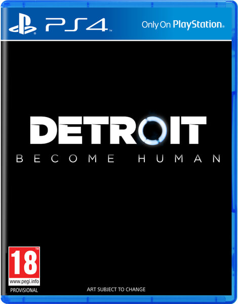 Sony Detroit Become Human PS4 Playstation 4 Game