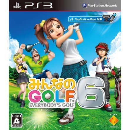 Sony Everybodys Golf 6 PS3 Playstation 3 Game