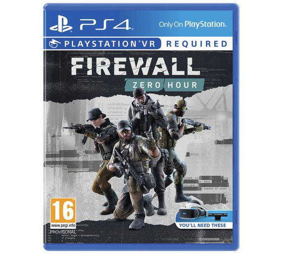 Sony Firewall Zero Hour PS4 Playstation 4 Game