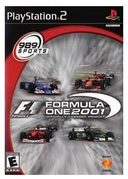 Sony Formula One 2001 PS2 Playstation 2 Game