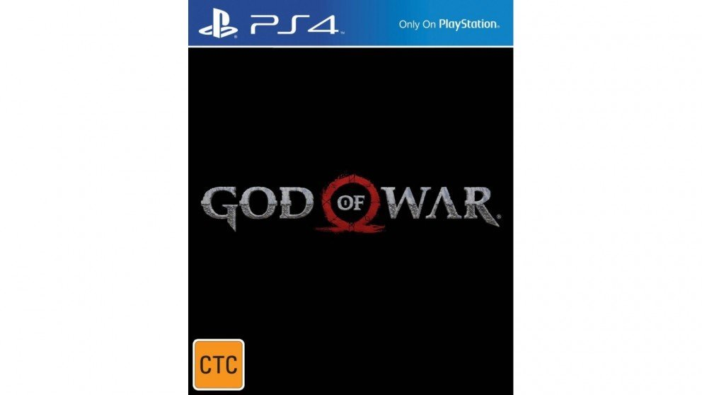 Sony God of War PS4 Playstation 4 Game