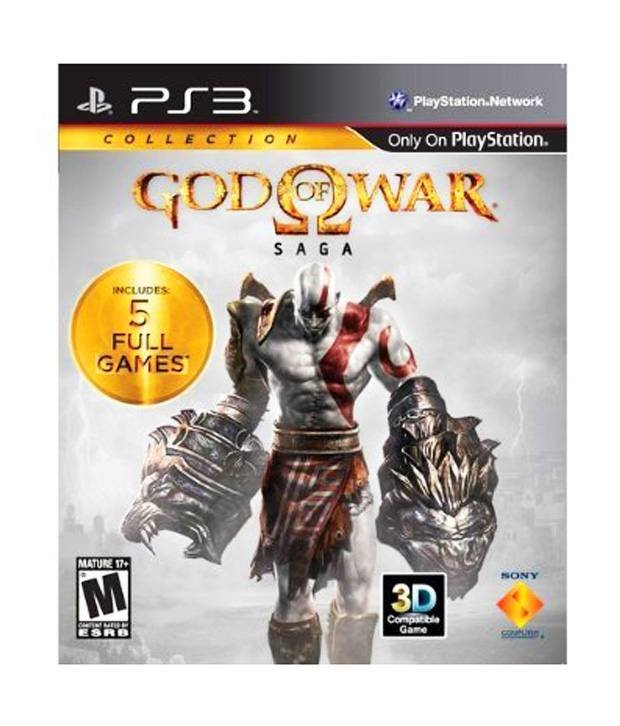 Sony God of War Saga Collection PS3 Playstation 3 Game