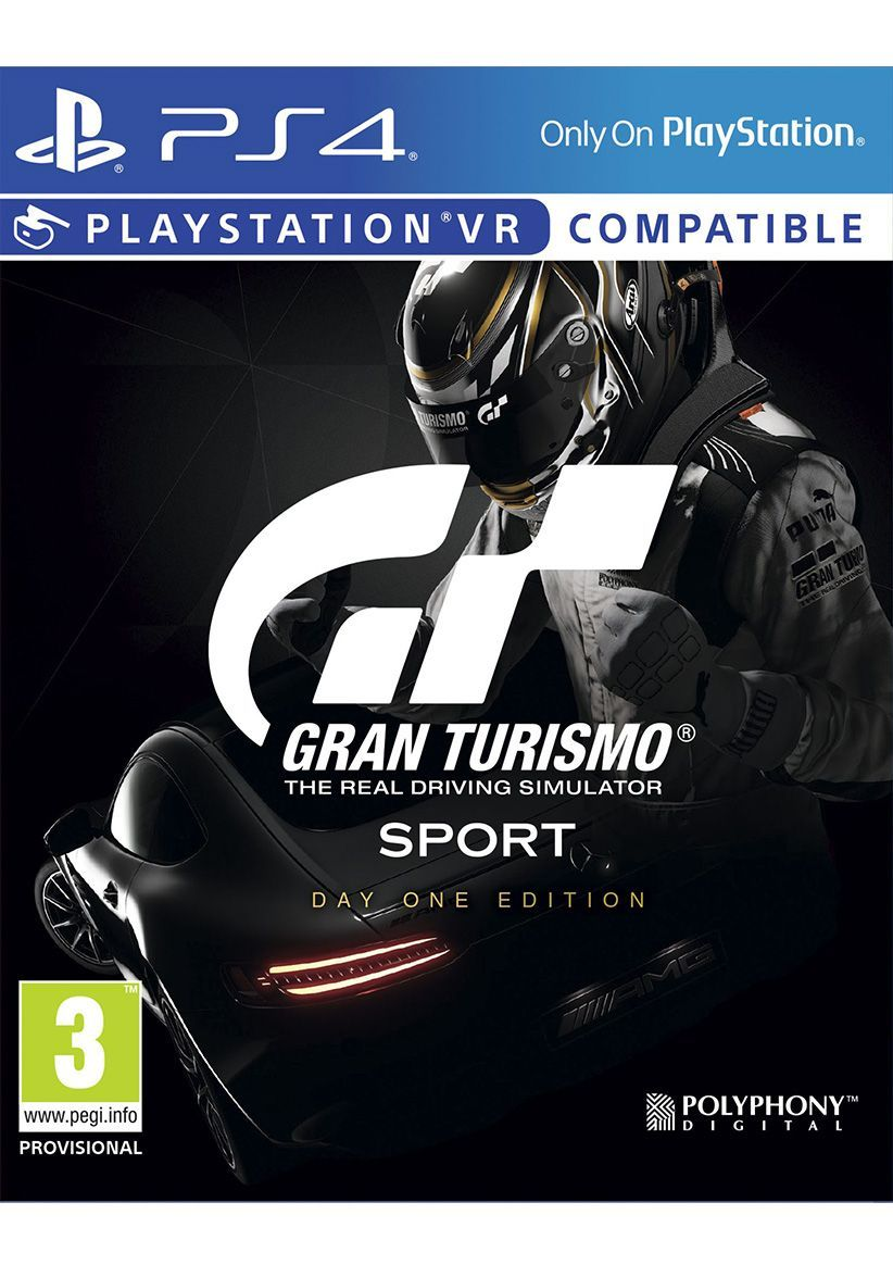 Sony Gran Turismo Gt Sport Day One Edition PS4 Playstation 4 Game