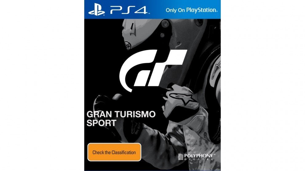 Sony Gran Turismo Sport PS4 Playstation 4 Game