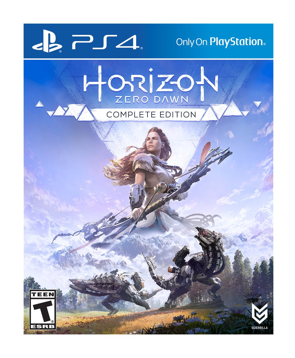 Sony Horizon Zero Dawn Complete Edition PS4 Playstation 4 Game