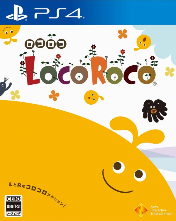 Sony LocoRoco PS4 Playstation 4 Game