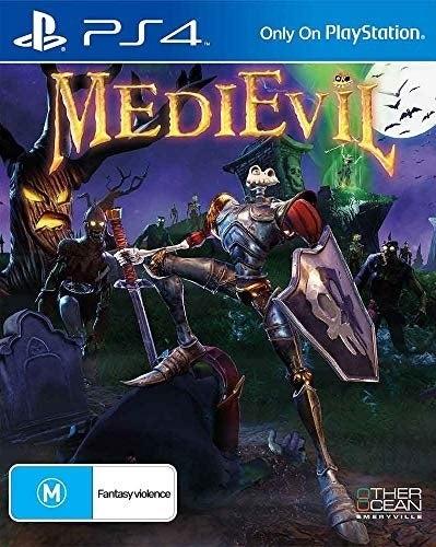 Sony MediEvil Remaster PS4 Playstation 4 Game