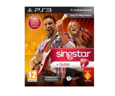 Sony Singstar Guitar Star Solus PS3 Playstation 3 Game