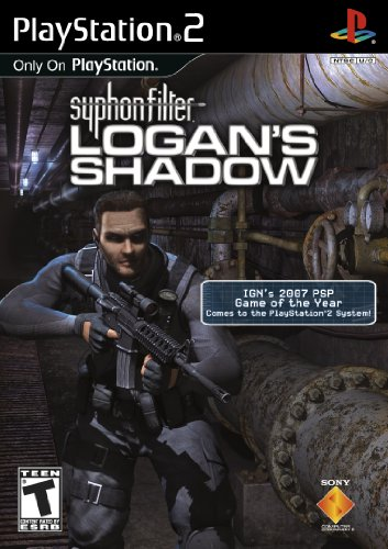 Sony Syphon Filter Logans Shadow PS2 Playstation 2 Game