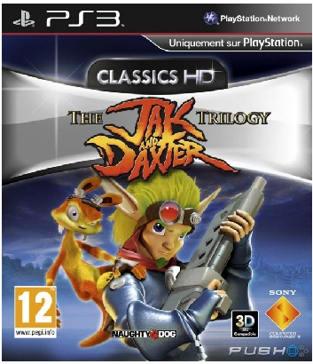 Sony The Jak and Daxter Trilogy Classics HD PS3 Playstation 3 Game
