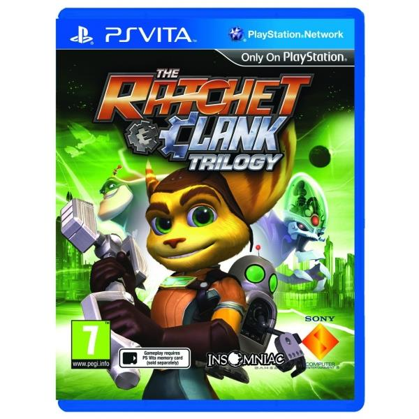 Sony The Ratchet And Clank HD Trilogy Collection PS Vita Game