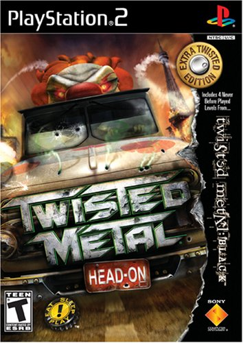 Sony Twisted Metal Head On PS2 Playstation 2 Game