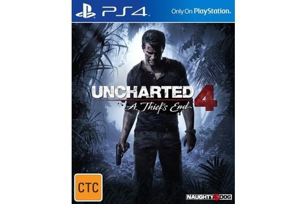 Sony Uncharted 4 A Thiefs End PS4 Playstation Game