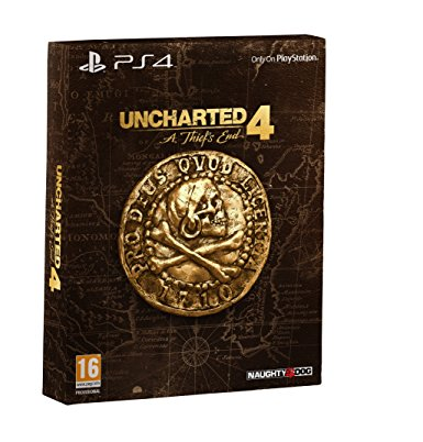 Sony Uncharted 4 A Thiefs End Special Edition PS4 Playstation 4 Game