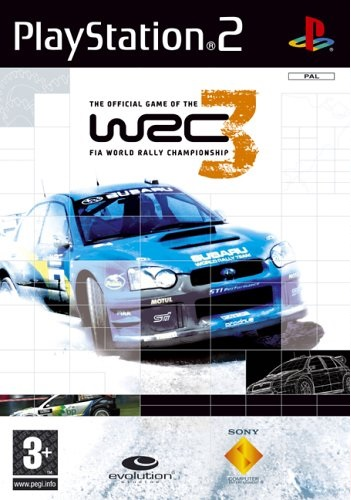 Sony WRC 3 FIA World Rally Championship PS2 Playstation 2 Game
