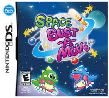 Taito Space Bust A Move Nintendo DS Game