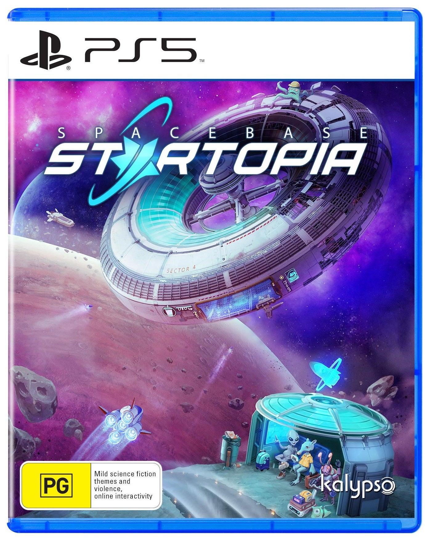 Kalypso Media Spacebase Startopia PS5 PlayStation 5 Game