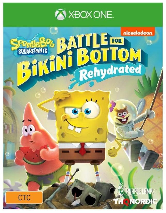 THQ SpongeBob SquarePants Battle for Bikini Bottom Rehydrated Xbox One Game