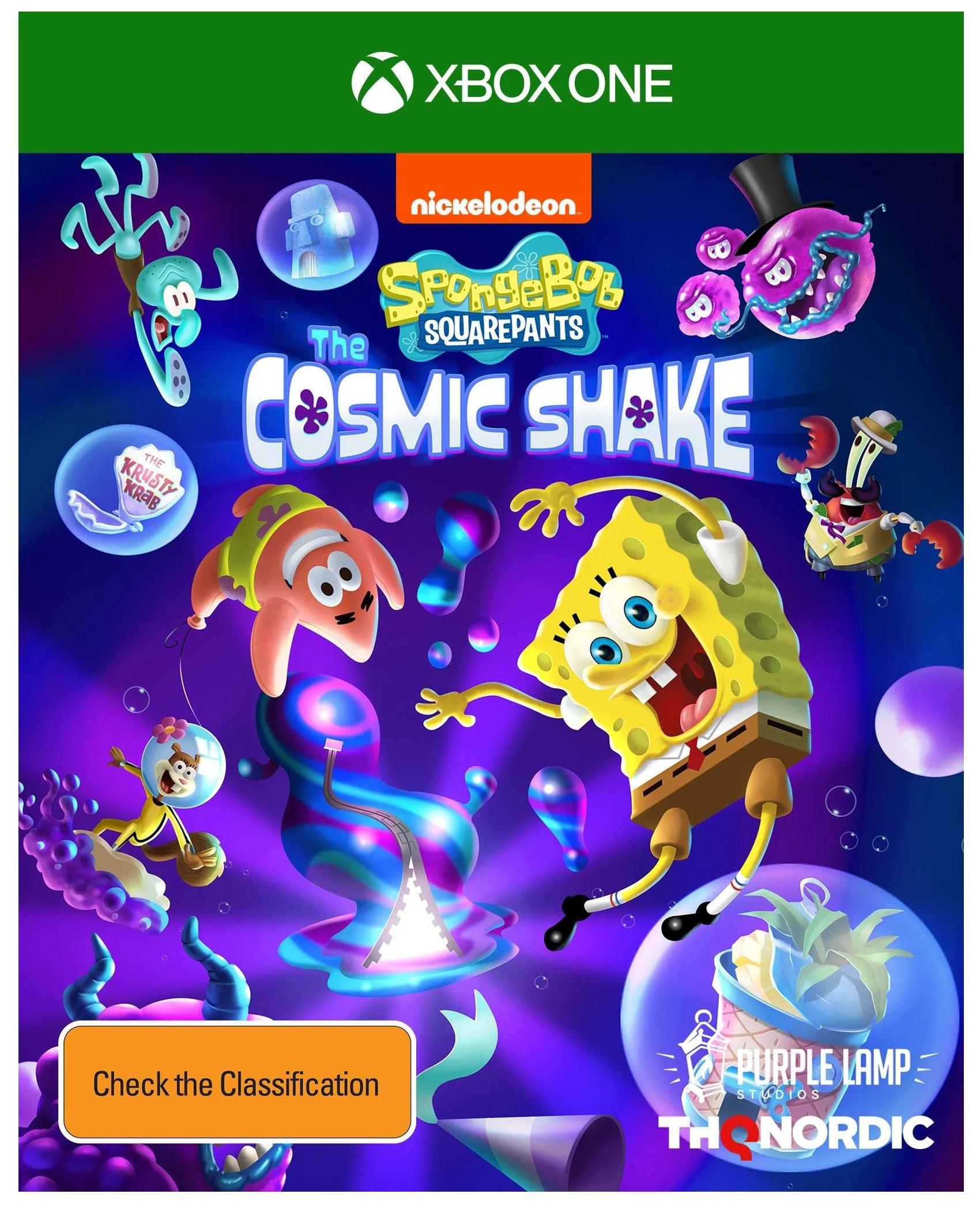THQ SpongeBob SquarePants The Cosmic Shake Xbox One Game