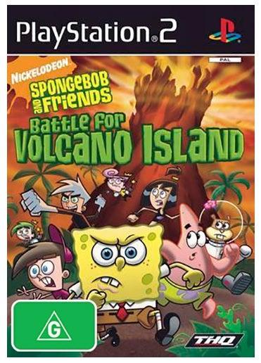 THQ Spongebob Squarepants Battle For Volcano Island Refurbished PS2 Playstation 2 Game
