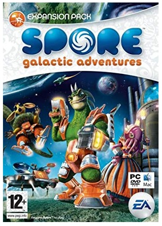 Electronic Arts Spore Galactic Adventures Expansion Pack PC Game