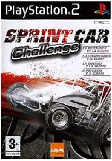 Liquid Games Sprint Car Challenge PS2 Playstation 2 Game