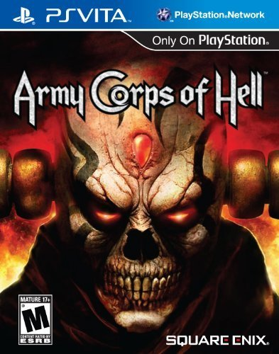 Square Enix Army Corps of Hell PlayStation Vita Game