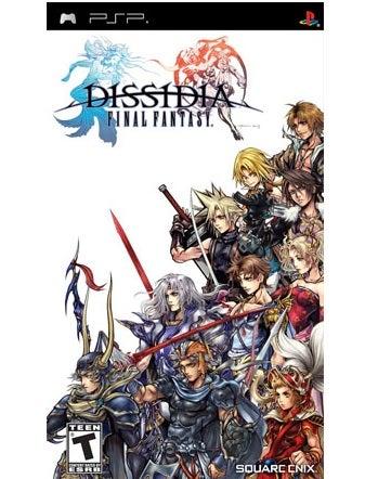 Square Enix Dissidia Final Fantasy PSP Game