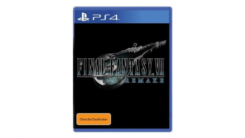 Square Enix Final Fantasy VII Remake PS4 Playstation 4 Game
