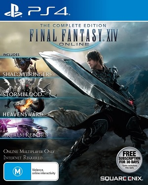 Square Enix Final Fantasy XIV Shadowbringers Complete Edition PS4 Playstation 4 Game