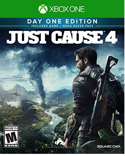 Square Enix Just Cause 4 Day One Edition Xbox One Game