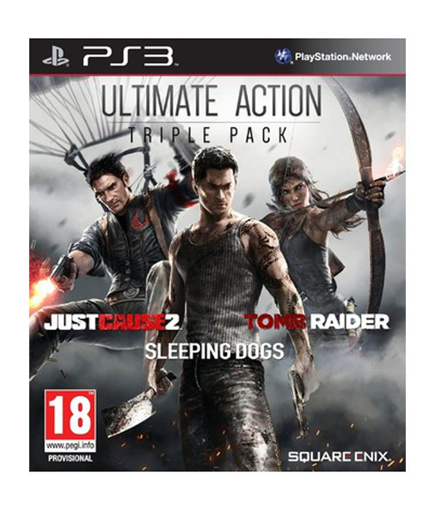 Square Enix Ultimate Action Triple Pack PS3 Playstation 3 Game