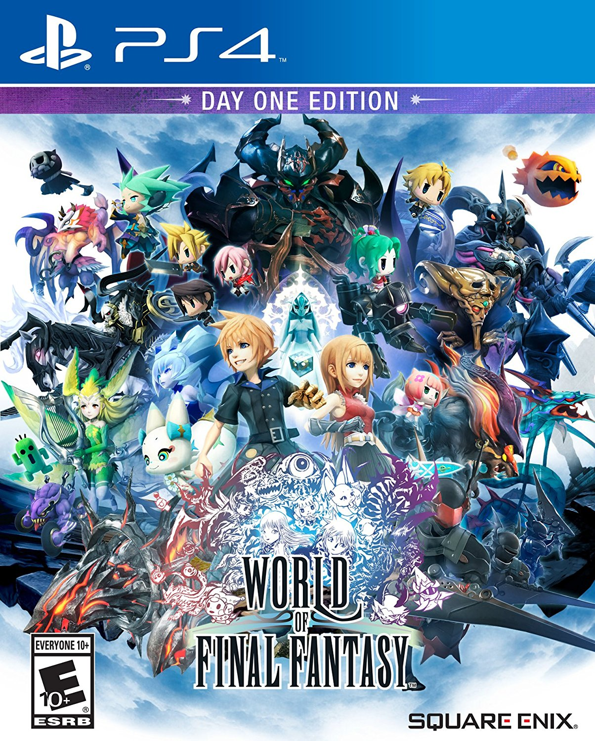 Square Enix World Of Final Fantasy Day One Edition PS Vita Game
