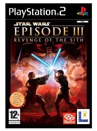 Lucas Art Star Wars Episode 3 Revenge Of The Sith Refurbished PS2 Playstation 2 Game