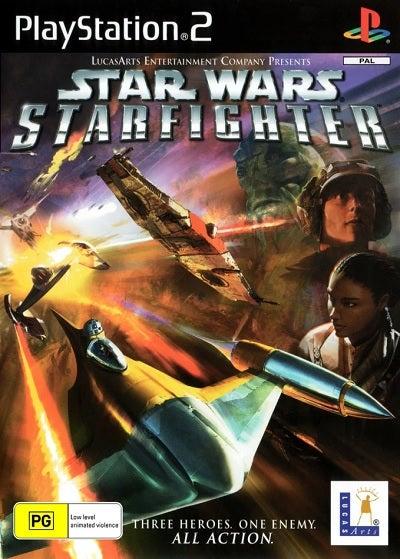 Lucas Art Star Wars Starfighter Refurbished PS2 Playstation 2 Game