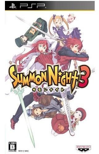 Namco Summon Night 3 PSP Game