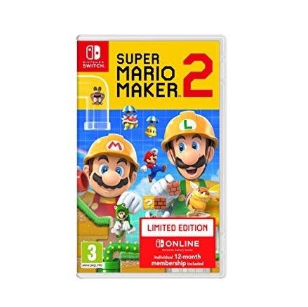 Nintendo Super Mario Maker 2 Limited Edition Nintendo Switch Game