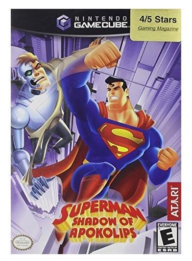 Atari Superman Shadow Of Apokolips GameCube Game